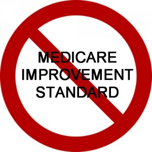 Medicare Improvement Standard A Myth