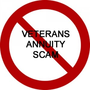 Stop The VA Annuity Scam