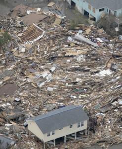 House Survives Hurricane